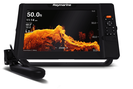 "Raymarine Element 12 HV - 12"" Chart Plotter with CHIRP Sonar, HyperVision, Wi-Fi, GPS, HV-100 transducer, No Chart"