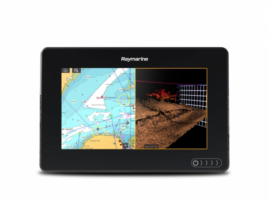 "Raymarine AXIOM 7 RV, Multi-function 7"" Display with integrated RealVision 3D, 600W Sonar, no transducer"